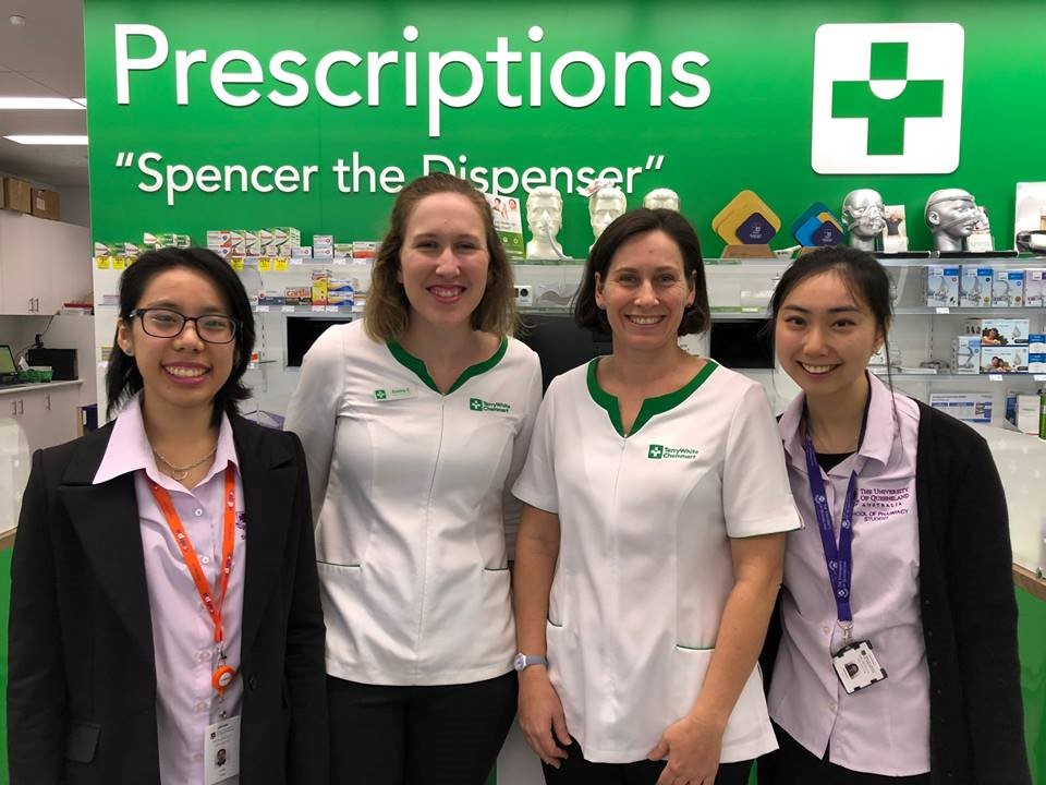 Pharmacy placement experience UQ