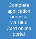 Complete application process via Blue Card online portal