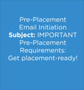 Get placement-ready!