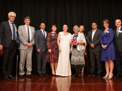 Award honours indigenous health collaboration