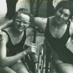 Australian Paralympic Team members Elizabeth Edmondson and Daphne Ceeney (1964)