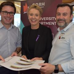 Hon. David Littleproud MP, Senator Bridget McKenzie and Associate Professor Geoff Argus