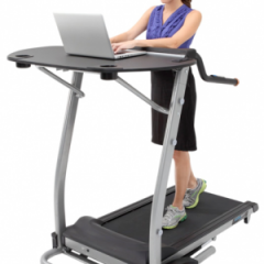 Stand and deliver at work with activity-promoting desks