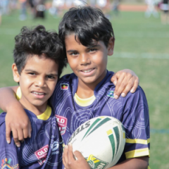 children at the Murri Carnival