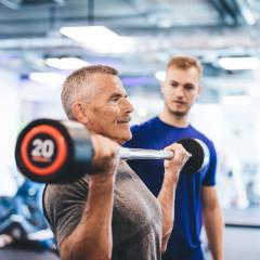Peer support for the maintenance of high intensity interval training and health in cancer survivors