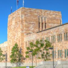 The UQ Forgan Smith building